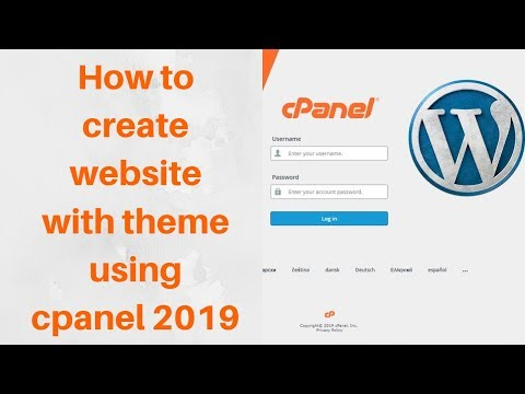 how to use cpanel to create a websi    - Myhiton