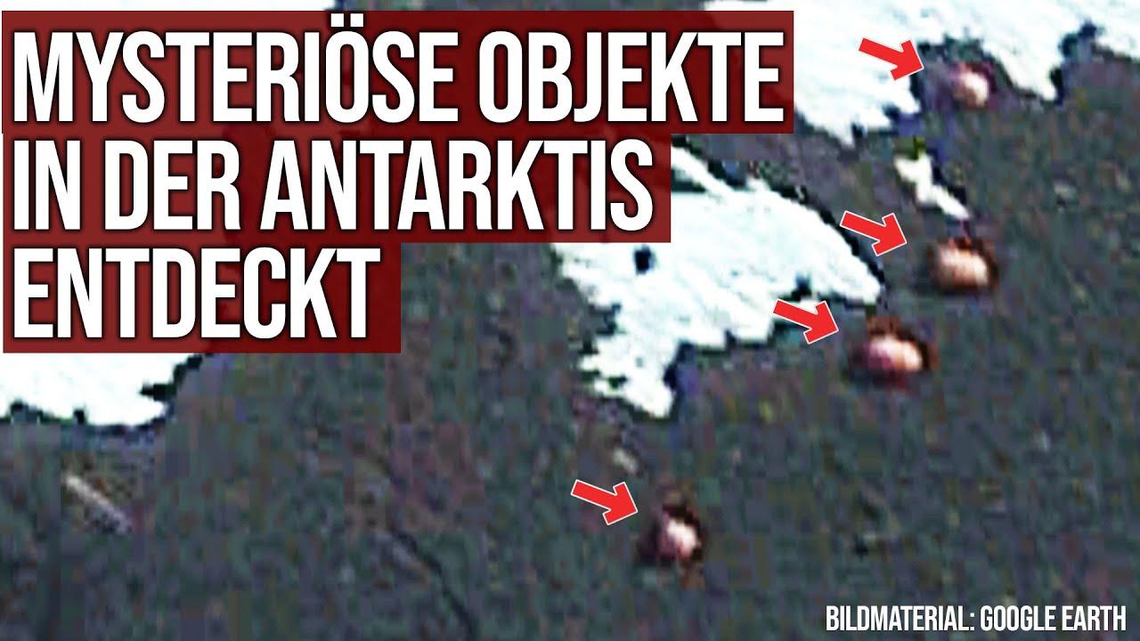Mysteriöse Objekte in der Antarktis entdeckt