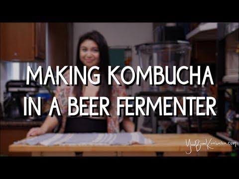 Making Kombucha In A Beer Fermenter
