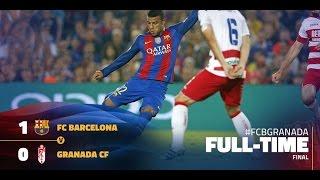 Fc barcelona vs granada 1-0 (arabic commentary) hd