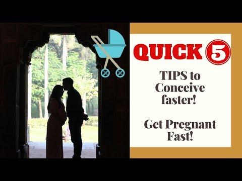 Things that can help you Conceive faster | Get pregnant faster |जल्दी प्रेग्नंट होने के लिए टिप्स