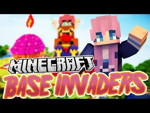 Animal Tower! | Minecraft Base Invaders Challenge