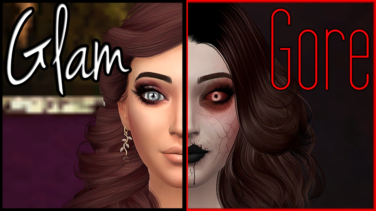 Sims 4 | Create A Sim - Glam to Gore