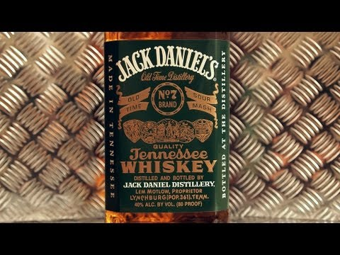 Jack Daniels No. 7 Brand Green Label Tennessee Whiskey