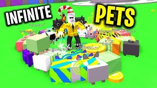 So I Bought The INFINITE PET PASS for 40,000 Robux...