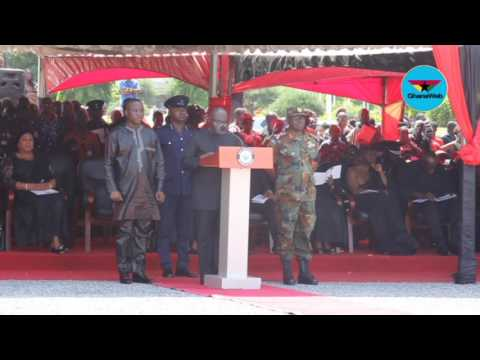 Tribute by Dr. Mahamudu Bawumia at state burial service for Major Mahama