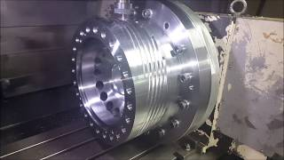 4-axis CNC Milling. Blown Film Die Machining Preview
