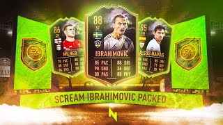 INSANE SCREAM TEAM PROMO! I PACKED A HUGE SCREAM CARD - FIFA 20 Ultimate Team