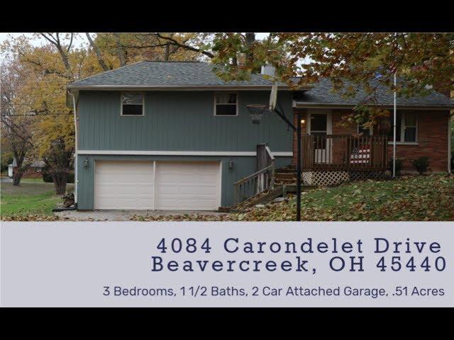 4084 Carondelet Drive Beavercreek OH 45440 - Beautiful home on a 1/2 Acre Lot!