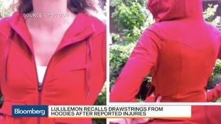 Why Lululemon Is Recalling Drawstrings From Hoodies