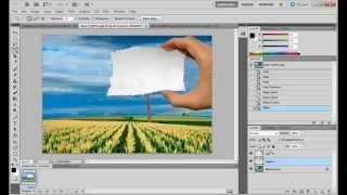 Простые уроки Photoshop | Полу-карандашный рисуно