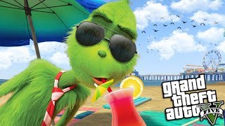The GRINCH goes on SUMMER VACATION (GTA 5 Mods)