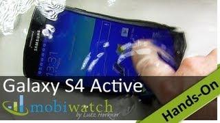 Test: Ist das Galaxy S4 Active wirklich nicht wasserdicht?