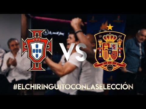 ESPECIAL PORTUGAL-ESPAÑA CON \'EL CHIRINGUITO\'