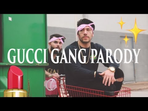 IF RAPPERS WERE MAKEUP ARTIST (Lil Pump - Gucci Gang Parody)