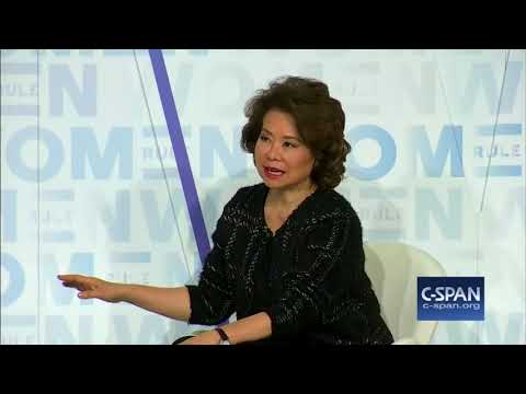 """Secretary Chao on her #MeToo Moment: """"""""The person is still here…"""" (C-SPAN)"""