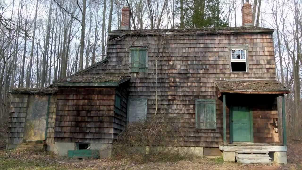 Herrontown woods abandoned house princeton nj youtube for The princeton house