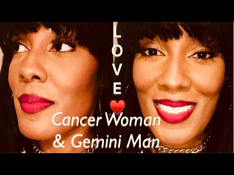 Cancer Woman & Gemini Man