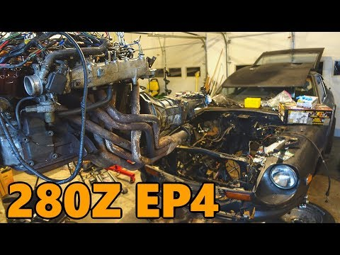 Datsun 280z New Engine Install (Ep.4)