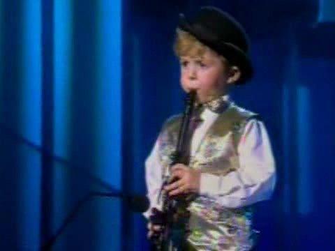 Julian Bliss on ITV - Age 5