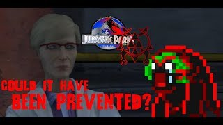 Was Dr. Sorkin right?! Jurassic Park a ticking Time Bomb?! Jurassic World Theory Video