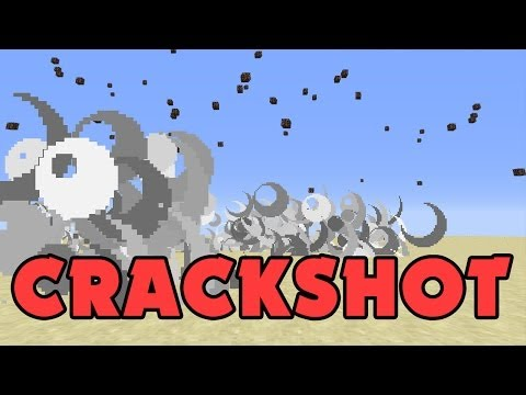 Minecraft Plugin: CRACKSHOT - Guns, bombs, airstrikes!