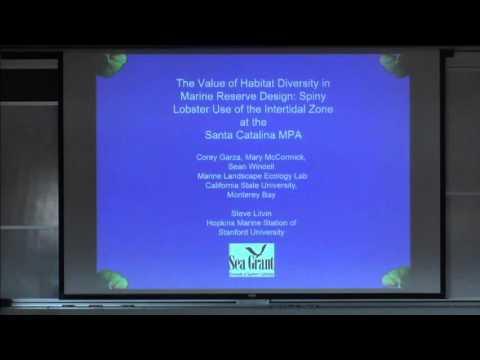 Dr. Corey Garza presents: Marine Landscape ecology