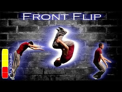 How To FRONT FLIP - Free Running Tutorial