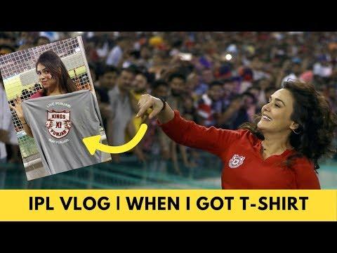 Vlog IPL Match- Kings XI Punjab VS Sunrisers Hyderabad | How I Get T-Shirt From PreityZinta KIXvsSRH