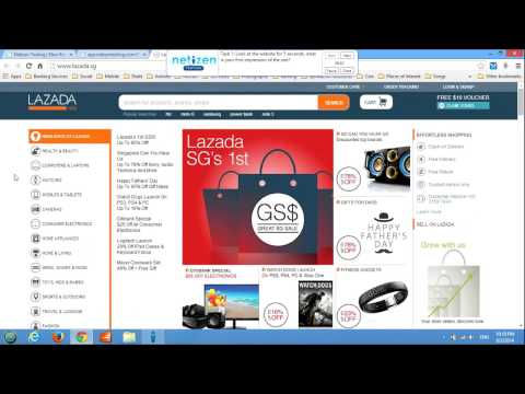 Lazada Product Scouting 1 - Product Categories