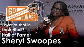 Sheryl Swoopes talks about her favorite shot in basketball