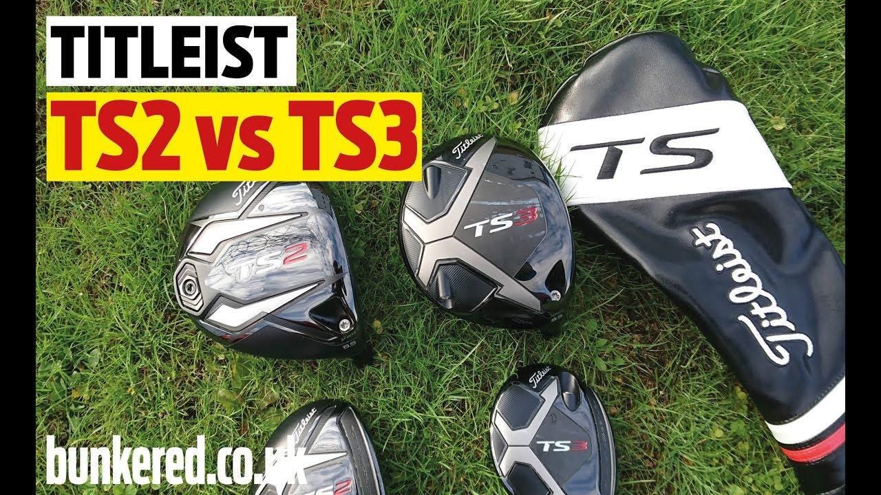 Titleist TS2 vs TS3 Driver