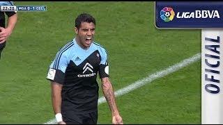 Gol de Augusto Fernández (0-2) en el Málaga CF - Celta de Vigo - HD