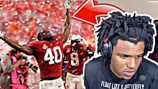 College Football Playoff National Championship Game : Alabama vs. Ohio State | ESPN ** REACTION**