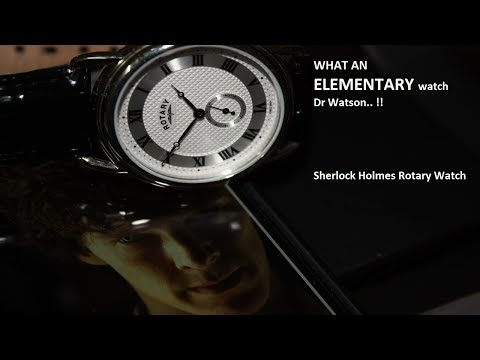 Rotary 'Sherlock Holmes' Watch Review