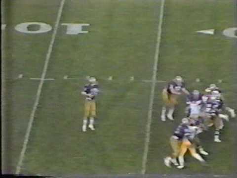 1981 Rose Bowl: Michigan 23 Washington 6 (PART 3)