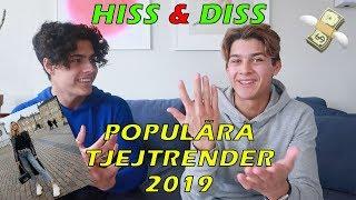 HISS & DISS POPULÄRA TJEJTRENDER 2019