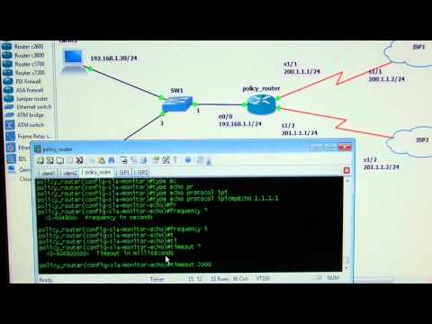 CCNP Path Control - 01 - IP SLA Ahmed Abdallah