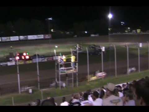 Power I Midgets-U S 36 Raceway-Highlights-Video.wmv