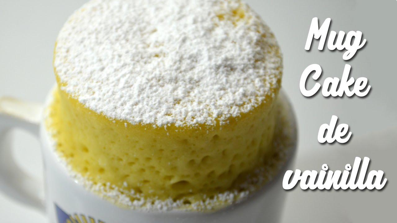 Como Hacer Un Mug Cake De Vainilla
