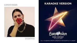 Conan Osiris - Telemóveis - Karaoke - Instrumental - Portugal - Eurovision 2019