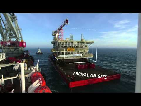 InnovWeek ENGIE - The Cygnus gas field in the North Sea