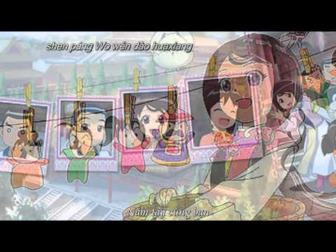 Thiên sứ công chúa [Kara+Vietsub] - Xa Doanh Phi ft. Lý Duyệt Đông