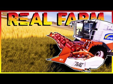 Real Farm Gameplay | NEW FARMING SIMULATOR GAME! | Real Farm Gameplay Review & First Impressions