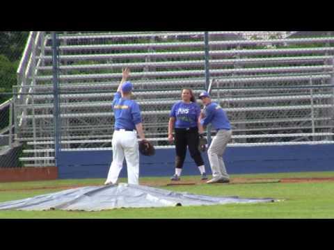 Aloha High School 2016 Baseball vs Softball