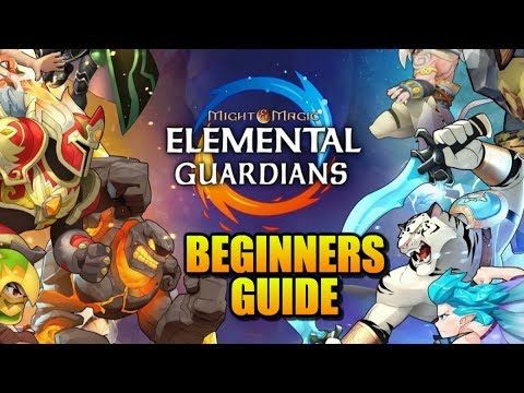 MIGHT & MAGIC ELEMENTAL GUARDIANS - Beginners Guide