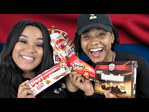 Download Youtube: AMERICANS TRY EUROPEAN TREATS!