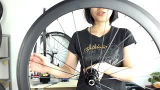 Carbon Wheelset - Combo Carbon Wheels Yoeleo SAT 38+50mm 3k matt Clincher