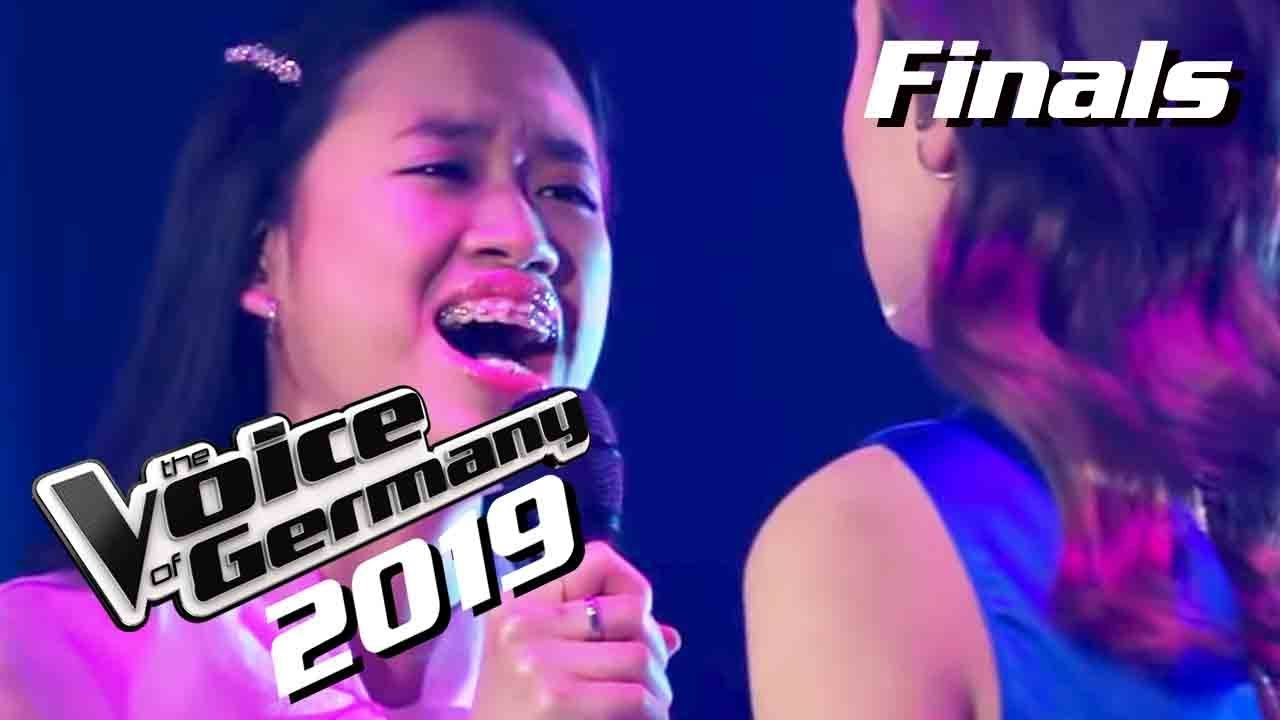 Claudia Emmanuela Santoso Ist Voice Of Germany 2019 Winner Moment Finals Youtube
