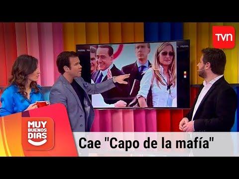 Capo De La Mafia Italiana Es Capturado En Iquique | Muy Buenos Días